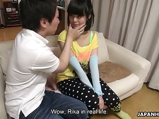 This Japanese chick loves having their way pussy toyed added to she is hella cute
