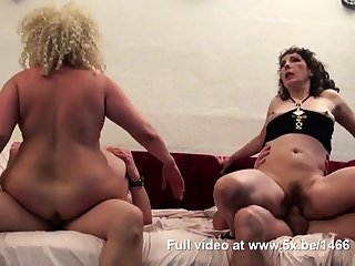 Regina plus a friend banged by few cocks