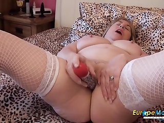 Fatty plugs will not hear of butt and toy fucks will not hear of wet pussy