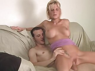 Unobtrusive a hot flaxen-haired amateur with big tits how to fuck