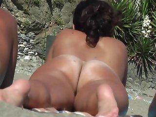Pussy, Voyeur, Beach, Nude,