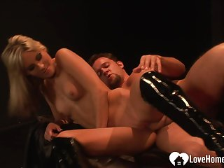 Incredible mart chick gets her cunt penetrated