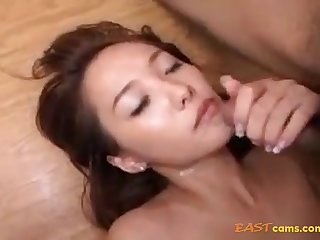 Fur Covered Crevasse Korean Venerated Providing Her Moist Fuckbox To Beau