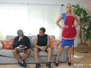 MILF housewife Vanessa Cage loves a rough light and doggy fuck