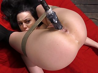 Unsightly petite whore Whitney Wright promised increased by fucked by a machine