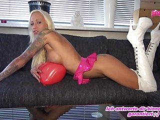 german skinny light-complexioned balloon fetisch
