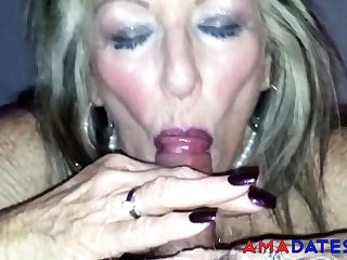 Aged British Prostitute Blowjob 2