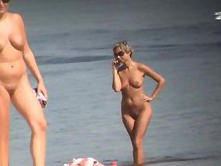 Private nudist beach