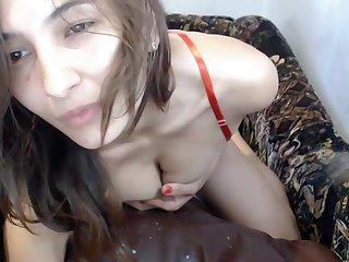 Milf With Big Nipples Plays Their way Breast Milf Webcam Porn
