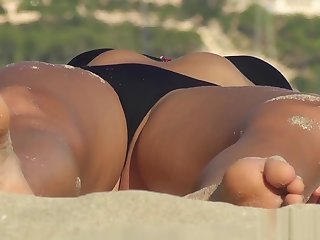 Erotic Ass Bikini puberty Up ahead Beach Voyeur Vid