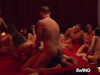 Swinger couple get a hotness welcome