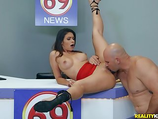 flexible making Katana Kombat wants to operation her sexual skills to her lover