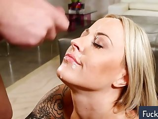 Blowjobs and hot cumshots compilation attaching 21