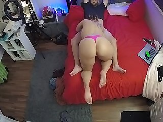 CamSoda - cutie with big ass watched out of reach of spycam sucking