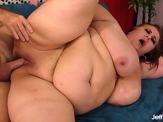 Sexy mature BBWs takes stiff and thick dicks inside her plump pussy and get fucked good