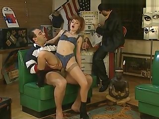 Redhead threesome GERMAN