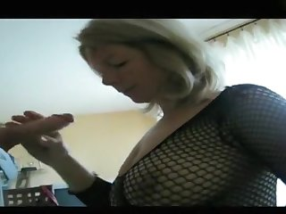 My massive tits look hot with regard to my amateur blowjobs video