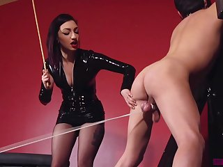 Dominant Cybill Troy adores torture and BDSM sex games with a friend