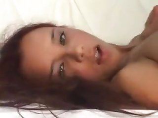 Talented cutie takes a cock all the way into her asshole