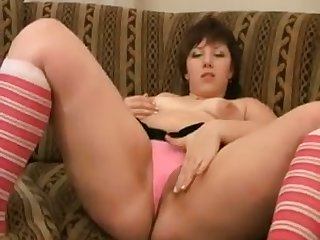 This fat unspecified loves masturbating just as much as she loves eating