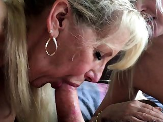 OMG Granny Got Breech Fucked WANDA Be passed on ANAL GRANNY