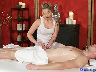 Sweeet masseuse sure needs this piece yon her ass