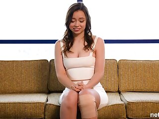 Broad-saw first-timer creampied convenient 1st audition