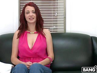 Red-Head Gets Fucked Eternal On Cam!