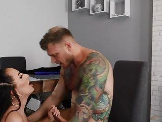 Big Bristols making love video featuring jessica miller plus Mike Miller