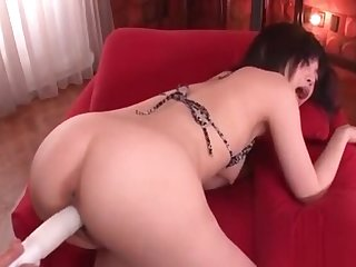 Cute Hiraku Kirameki get beaver licked and fucked