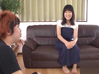 Gangbang delight for asian schoolgirl