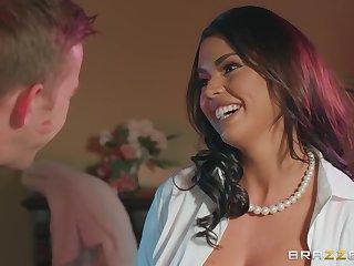 Latina inauspicious MILF Chloe Lamour in memorable coition clip