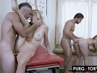 PurgatoryX: Fertility Clinic with Skylar Snow with an increment of Paisley Porter