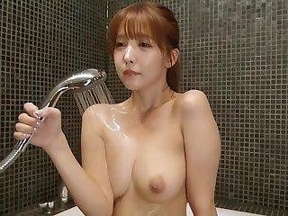 Japanese lustful spinner crazy sex clip