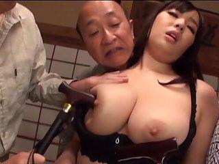 Freakish guys enjoy fucking juicy cunt of chubby Nonami Shizuka